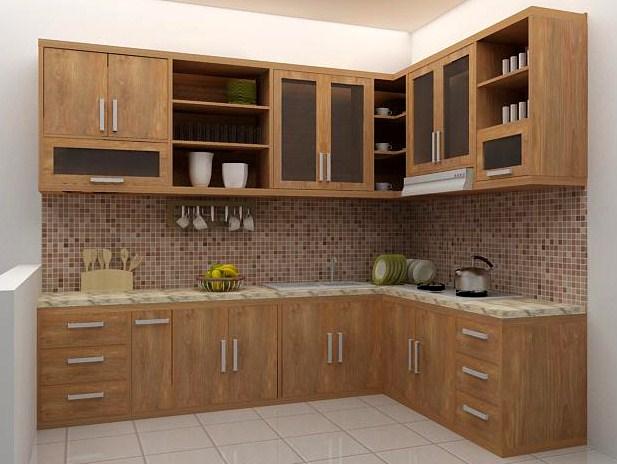 6 Kelebihan Kitchen Set dari Kayu Jati untuk Lengkapi Dapur Anda