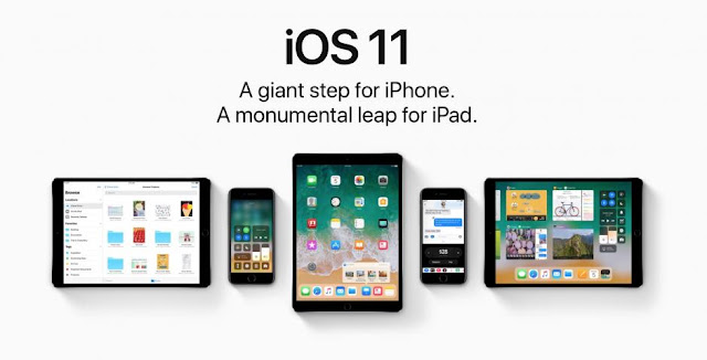 iPhone Or iPad With Apple IOS 11
