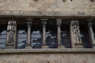 Saint-Antonin-Noble-Val. Escultures de la Maison romane