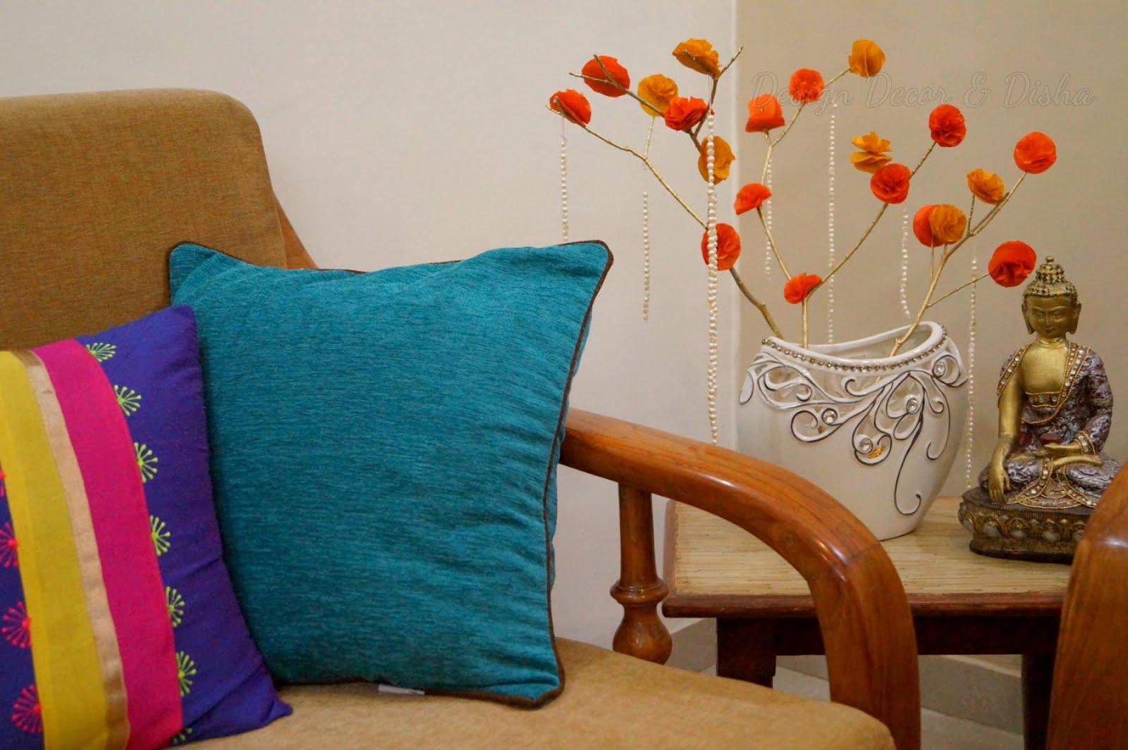 Design Decor Disha An Indian Design Decor Blog Last Minute Diwali Diy Home Decor Ideas