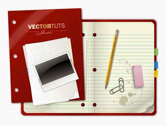 Craft a Vector Collegiate Notebook Design