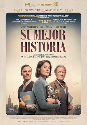 Su mejor historia (THEIR FINEST) - Gemma Arterton - Poster español