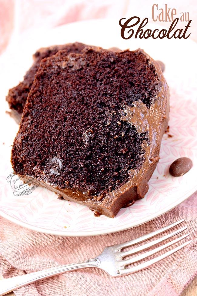 le meilleur cake au chocolat