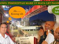 Kepala Proyek LRT Palembang Bungkam Tudingan Prabowo Tentang Biaya LRT Mahal