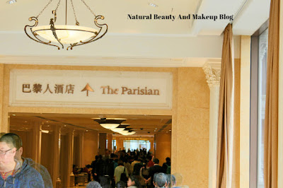 Destination - MACAU, Day 2,The Parisian Macao Resort Hotel, Cotai Strip on Natural Beauty And Makeup Blog