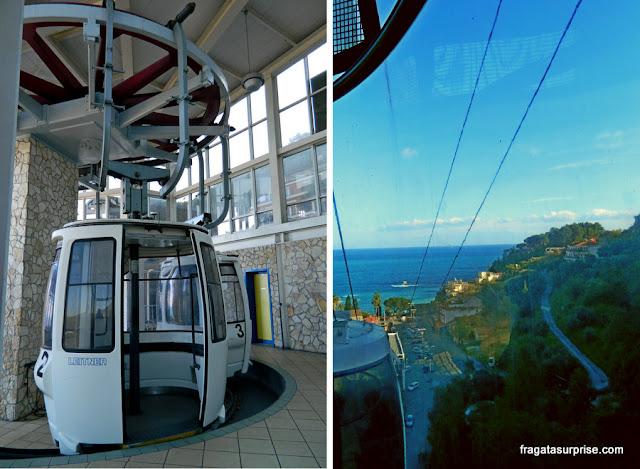 Teleférico de Taormina, Sicília