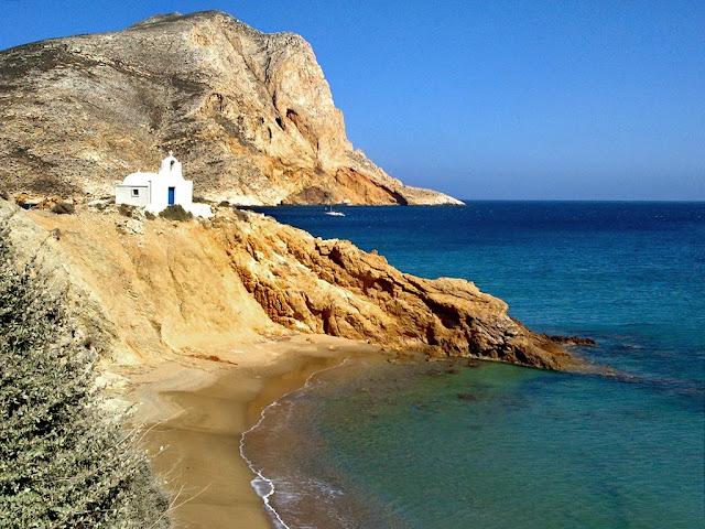 Фотография пляжа Анафи