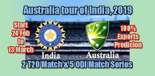 AUS vs IND 4th ODI 10.3.2019 Today Match Prediction Tips by Experts