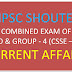 TNPSC COMBINED EXAM OF VAO & GROUP - 4 SERVICES (CSSE- IV) CURRENT AFFAIRS IN TAMIL & ENGLISH PDF