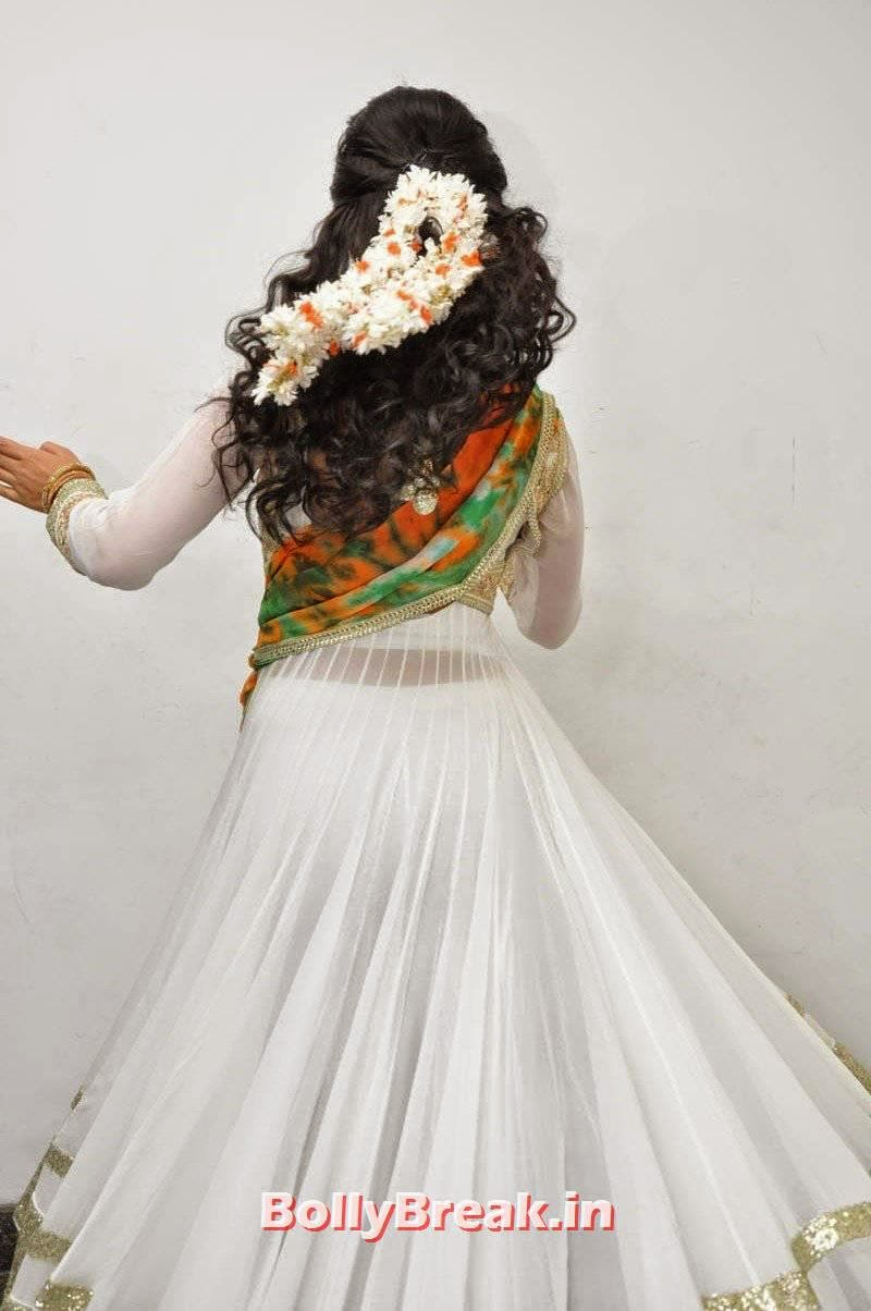 Shriya Saran Latest Photo Gallery, Shriya Saran Latest Hot HD Pics in White Anarkali Dress