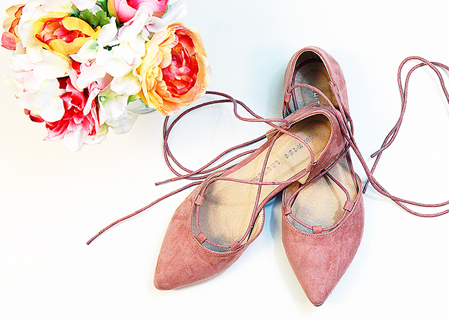 Chinese Laundry Great Time Blush Flats | A Good Hue