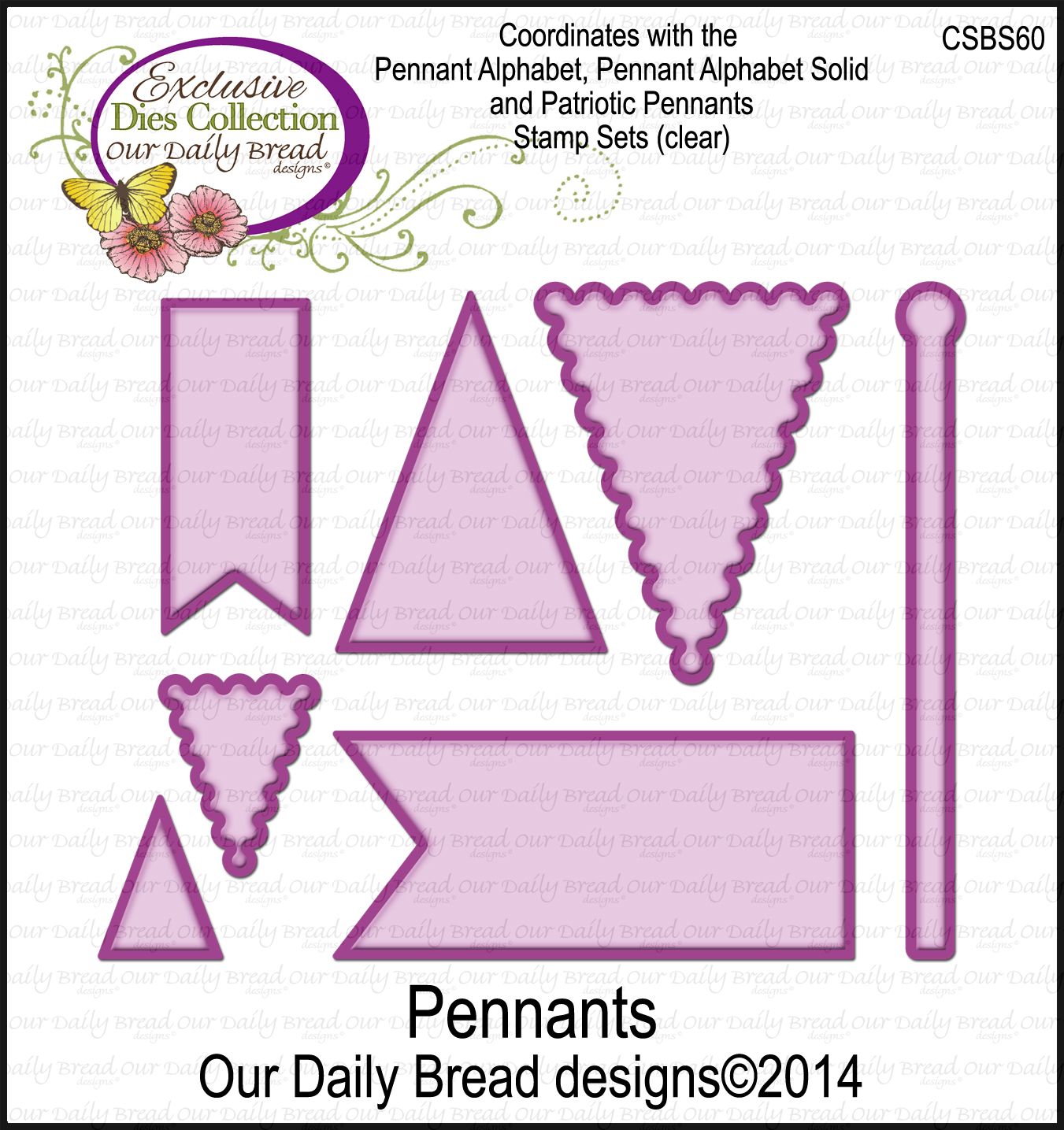 ODBD Custom Pennants Die