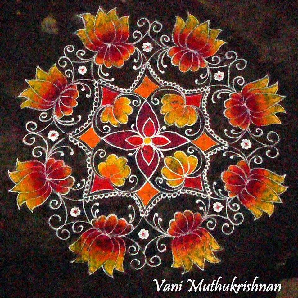 Kolam Designs 6