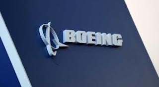 Image of Boeing company emblem