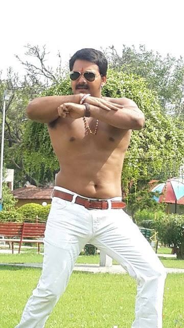 Pawan Singh Show Body Photos