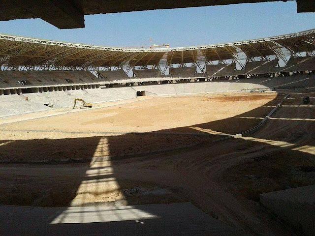 Album : Le nouveau stade d'Oran bientôt achevé !