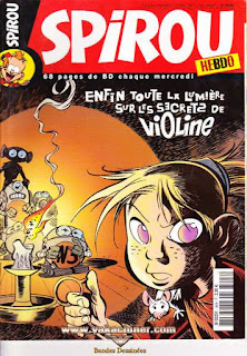 Spirou Hebdo, Violine, numéro 3606, année 2007