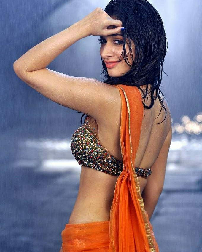 Tamanna Hot Navel Show in Saree|Sultry Photos in Saree wearing Pics