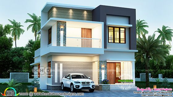 1363 sq-ft finished house with its 3d design