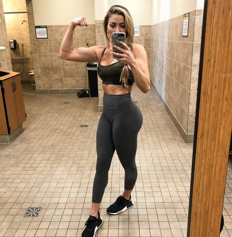 The athlete and fitspo Kaylee Ullom