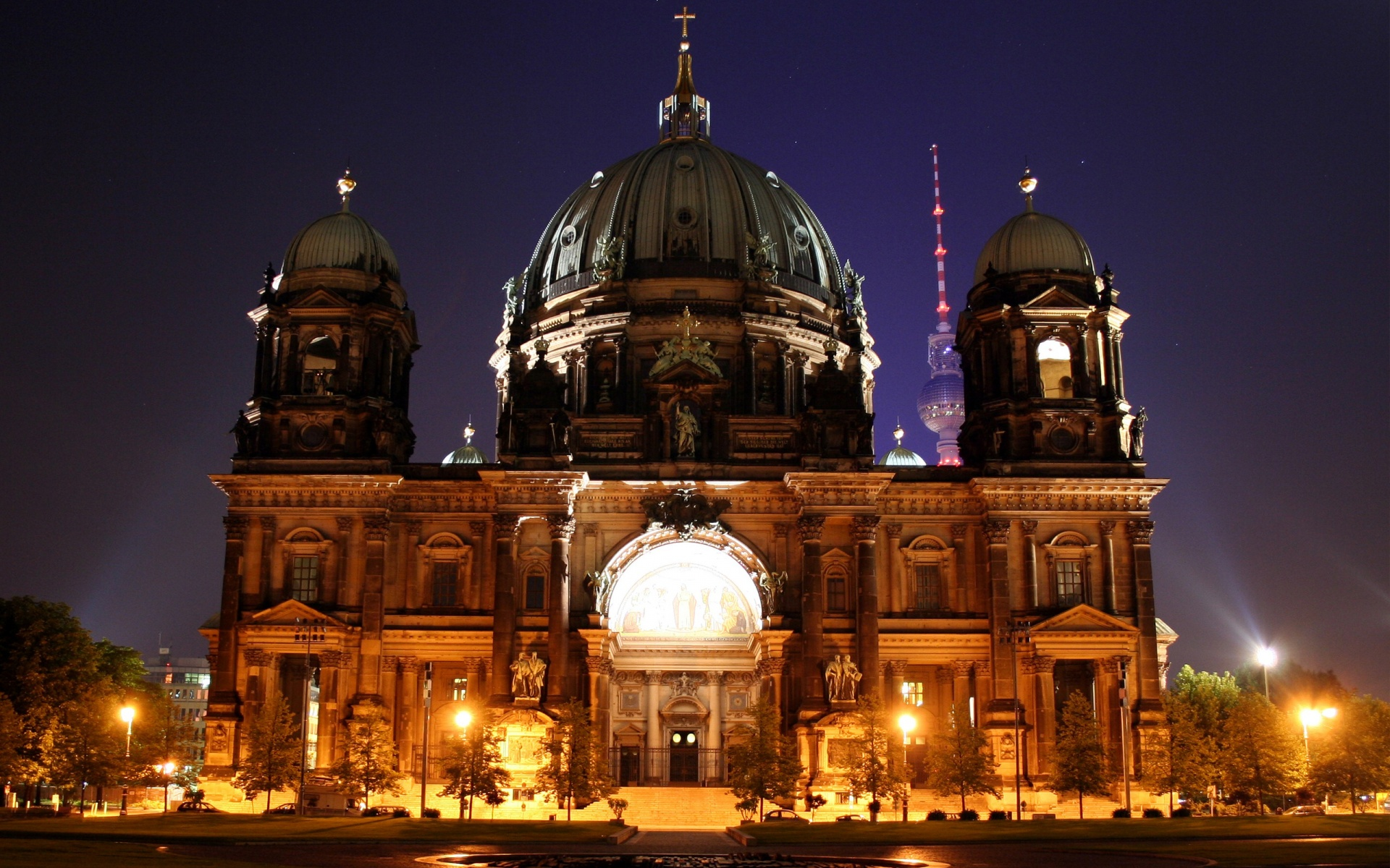 Cute Background Wallpaper For Computer Christmas Hd Berlin Cathedral Full Hd Desktop Wallpapers 1080p