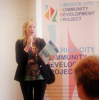 Jennifer McMahon launching the report