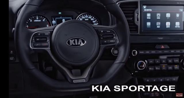 kia sportage 2016 interni foto - com'è dentro