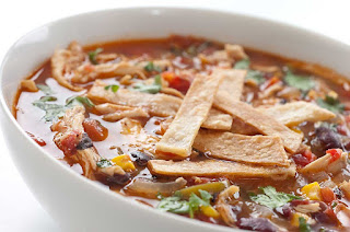 Tortilla Soup (Tortilla Corbasi)-Mexican