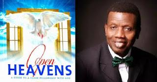Open Heavens sermon 2017 6 June 2017