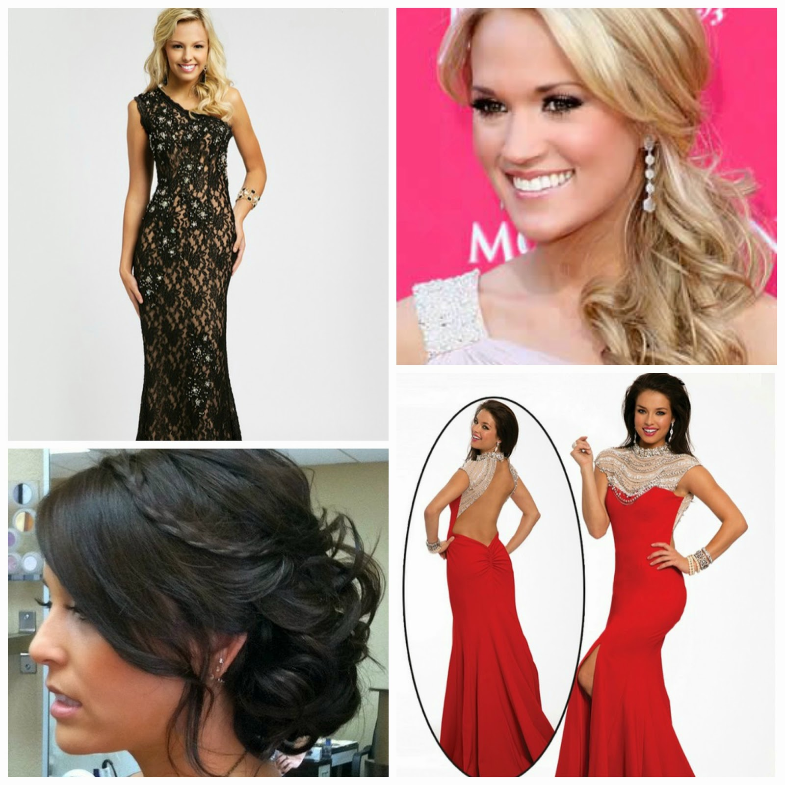 behind the yes: how to wear your hair with your prom dress