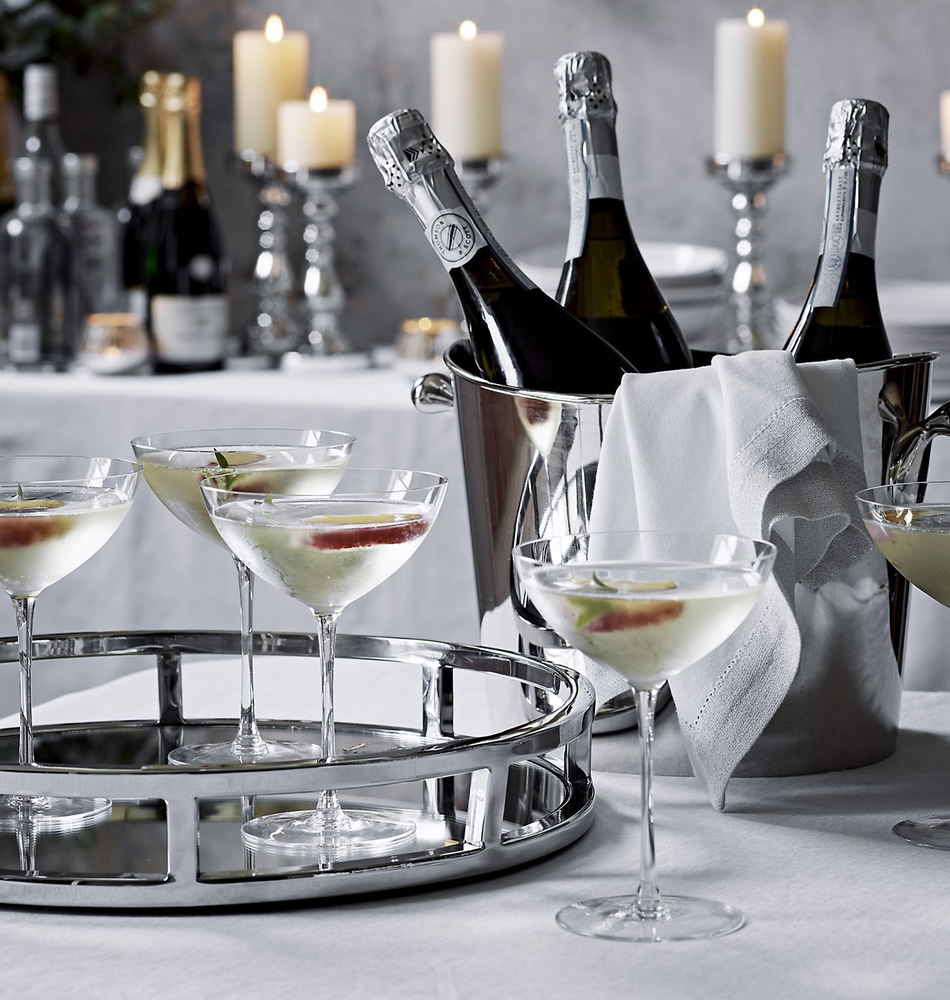 The White Company Champagne Coupe-Set of 4