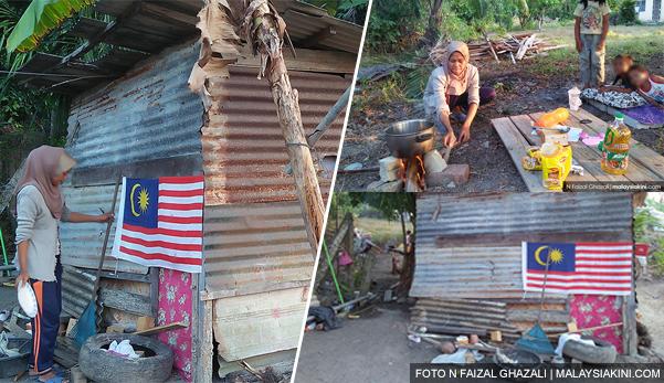 'Petang & malam kami ikat perut' - Ibu & 3 anaknya terpaksa tinggal dalam reban ayam selepas bercerai