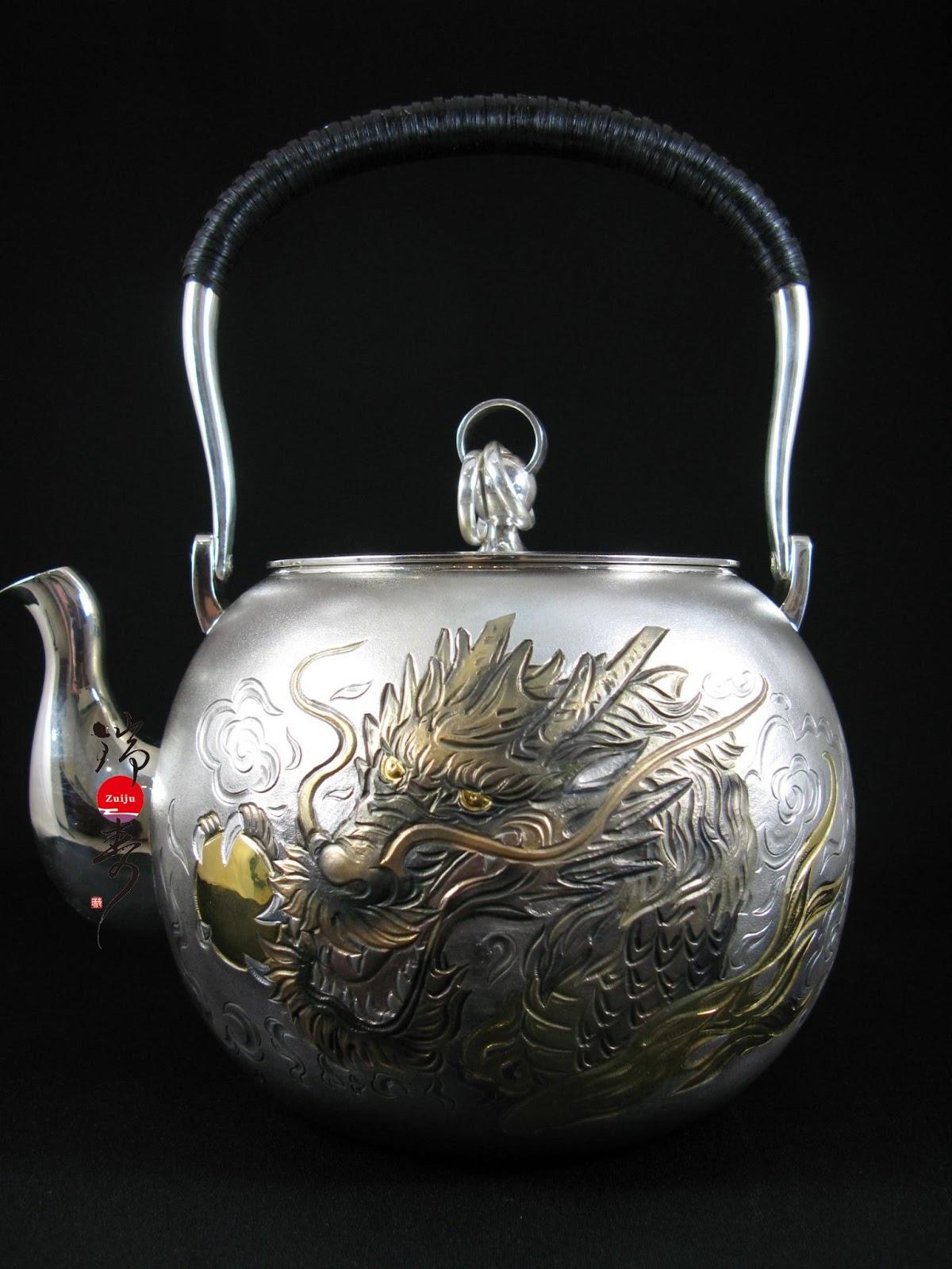 【日本工藝】日本銀壺,金壺的使用要點 ~ 瑞壽:藝術銀壺工藝專家