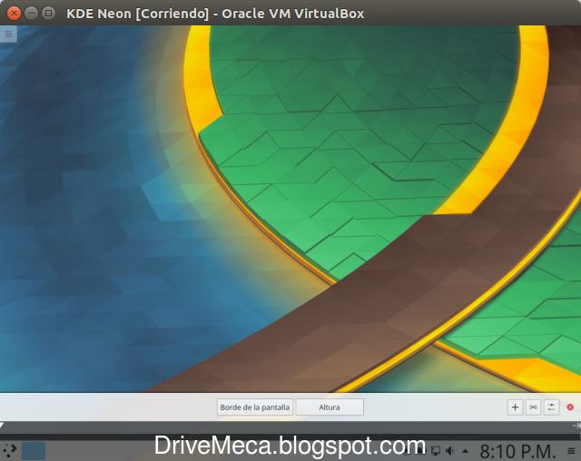 DriveMeca instalando KDE neon Plasma paso a paso