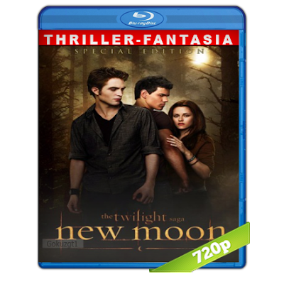 Crepusculo 2 Luna Nueva (2009) BRRip 720p Audio Trial Latino-Castellano-Ingles 5.1
