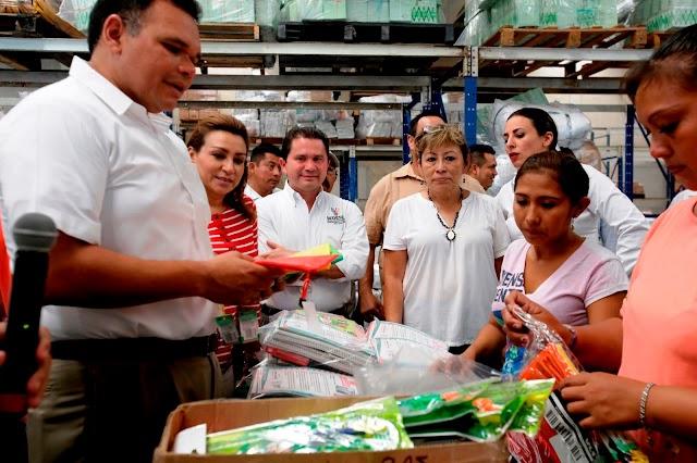 Bienestar Escolar 2016 llevará 277 mil 429 paquetes escolares