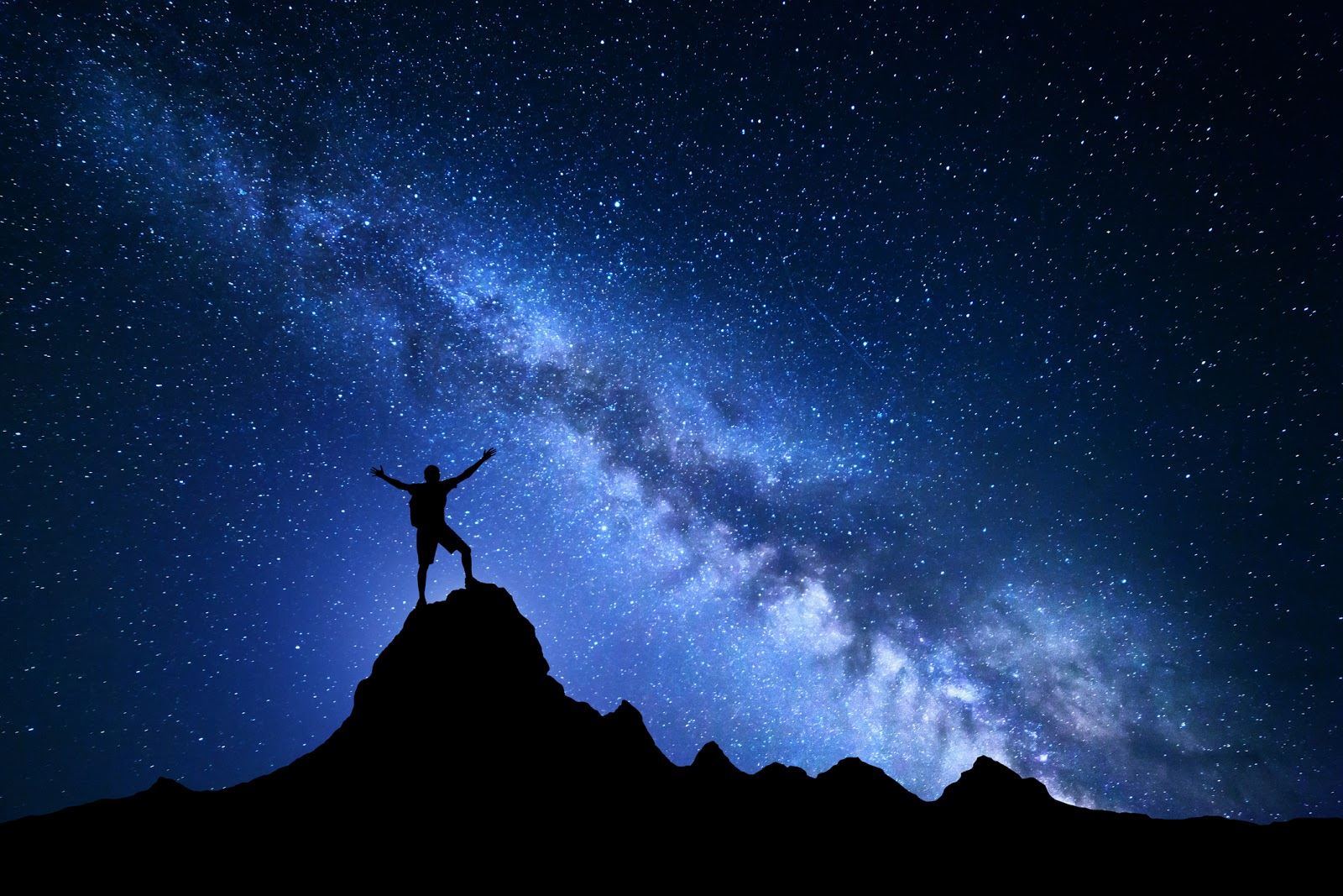 Never stop reaching for the stars.