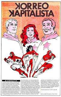 Trinidad Roja ficha dc comics