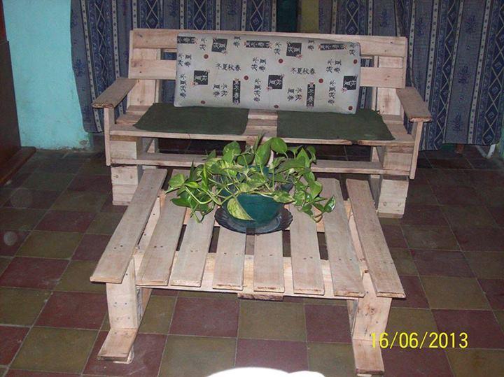 Ideas para reciclar palets de madera construccion y - Reciclar palets para muebles ...
