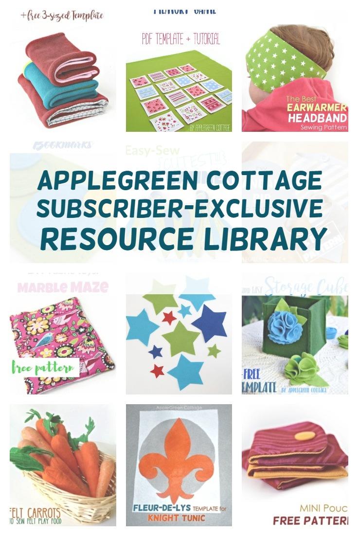 free resource library freebies applegreen cottage