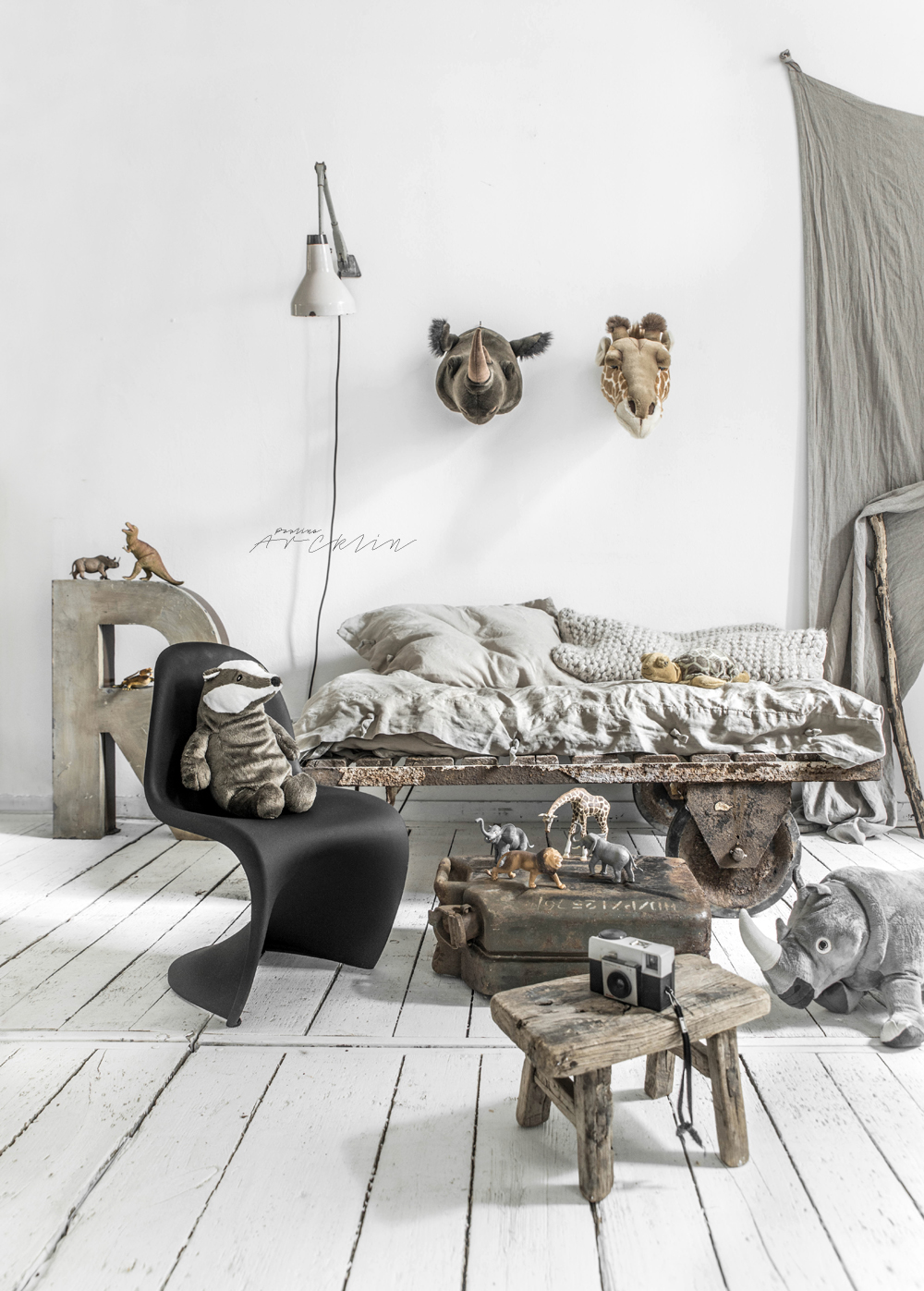 Kids Room Safari Theme Paulina Arcklin Photographer