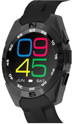 NO.1 G5 Bluetooth Smart Watch is great on design, specifications and features