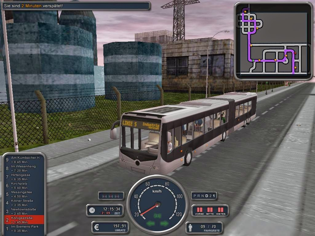 download bus simulator for pc highly compressed