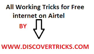 WORKING FREE TRICKS FOR AIRTEL