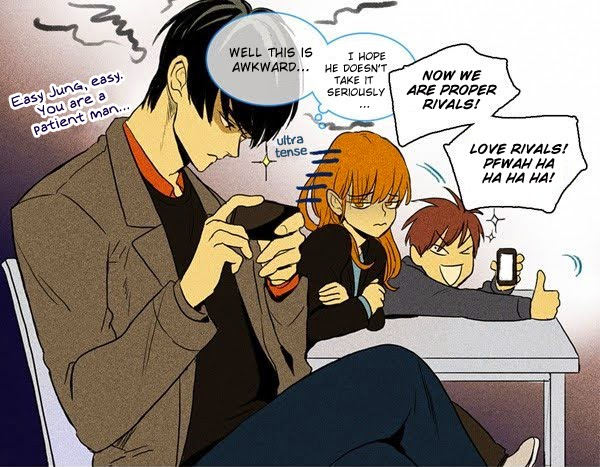 Ookamis Blog Webtoon Check Up Cheese In The Trap