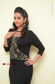 Telugu Actress Manasa Manohar Stills in Black Long Dress at Naku Nene Thopu Turumu Trailer Launch  0008.JPG