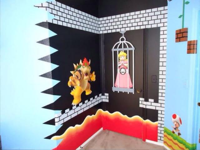 Super Mario Brothers Bedroom Decor Home Bathroom Instagrams
