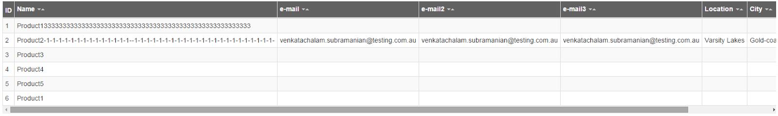 Venkat$ echo: react-bootstrap-table | header column alignment fix