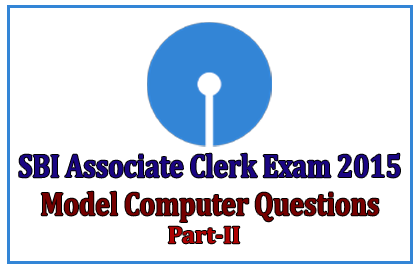 SBI Associate Clerk Exam 2015