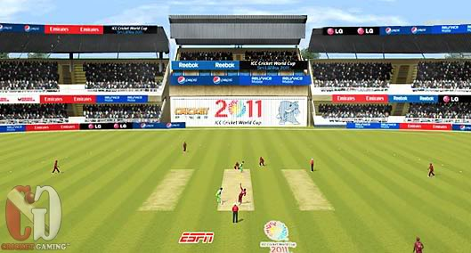 cricket 2011 games  free